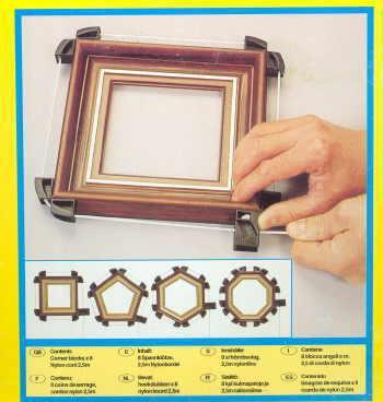 Clamp-Frame : Clamp, Frame, String Pull, #PRM 4-8